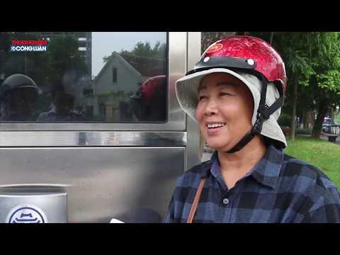 Hà Nội: Người dân hào hứng với cây lọc nước thông minh, cấp nước miễn phí