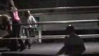 The JawBreakers wrestle Candie & Angela April 2006 Part II