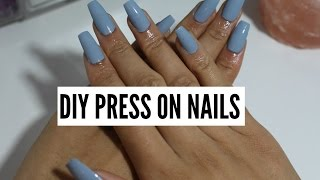 getlinkyoutube.com-DIY Nails (no acrylic/no gel)