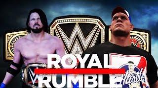 getlinkyoutube.com-WWE 2K17 John Cena vs AJ Styles Promo! (Royal Rumble 2017 WWE Championship Match!)