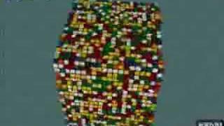 getlinkyoutube.com-20x20x20 Rubik's Cube Solve