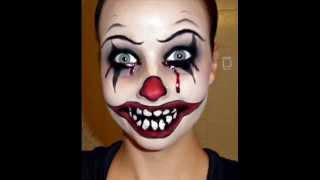getlinkyoutube.com-Halloween Series 2011: Killer Clown Makeup Tutorial