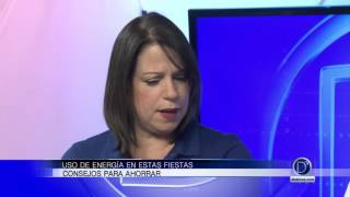 Marie Bertot vocera de FPL nos habla del uso de energía en fiestas y de consejos para ahorrar