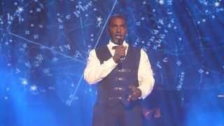 "getlinkyoutube.com-Norm Lewis ""Stars"", I love musical/Peter Jöback, Malmö Arena 11.10.13"