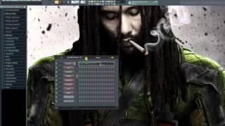 reggae tutorial in fl studio flp 2016 by el notologo