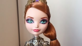 getlinkyoutube.com-DRAGON GAMES HOLLY O'HAIR DOLL REVIEW [EVER AFTER HIGH]