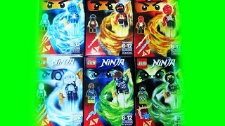 getlinkyoutube.com-Lego Ninjago Airjitzu JLB Bootleg 3D20901 Review