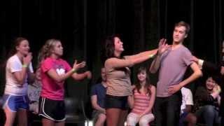 getlinkyoutube.com-Channing Tatum Crashes My Hypnotist Show