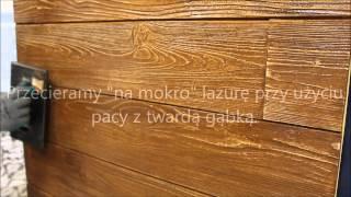 getlinkyoutube.com-Dekordeska - efekt starego drewna