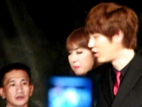[Fancam] 110615 Kyuhyun @ Masita Press Conference