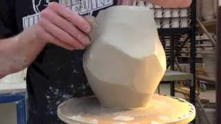 getlinkyoutube.com-Pottery - Throwing rocks