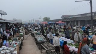 getlinkyoutube.com-hongsa morning market (ตลาดเช้าเมืองหงสา)