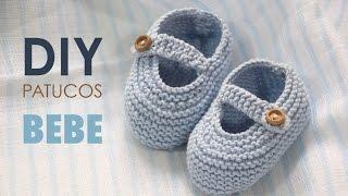 getlinkyoutube.com-DIY TEJER: Patucos zapatitos de bebe (patrones gratis)