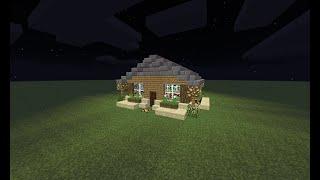 MINECRAFT Jak zrobić ładny domek/How to build a nice house #8