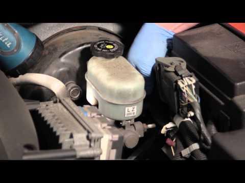 Trailblazer Brake Master Cylinder Fluid Level Sensor Installation