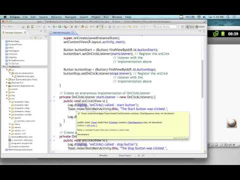 Android Application Development - Lecture 6