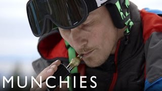 getlinkyoutube.com-Carving on Cannabis with a Snowboard Gold Medalist: FUEL