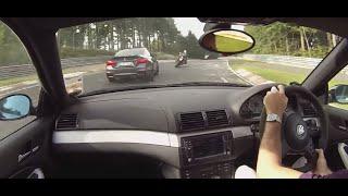 getlinkyoutube.com-BMW E46 M3 vs M4 Nurburgring Nordschleife