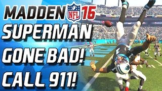 getlinkyoutube.com-SUPERMAN GONE WRONG! CALL THE AMBULANCE! - Madden 16 Ultimate Team
