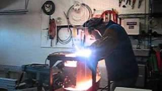 getlinkyoutube.com-Use plasma cutter vs a drill press