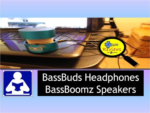 Geek Alabama Product Review: BassBuds Heaphones / BassBoomz Speakers