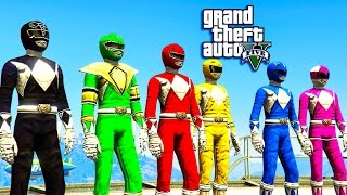 getlinkyoutube.com-GTA 5 - POWER RANGER MOVIE (GTA 5 SKIT)