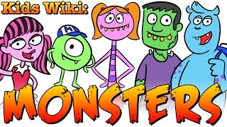getlinkyoutube.com-MONSTER FACTS! Cool School's Wiki for Kids: Monsters!