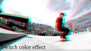 Sony Vegas Tutorial Twitch Color Effect ,3D effect, RGB Split
