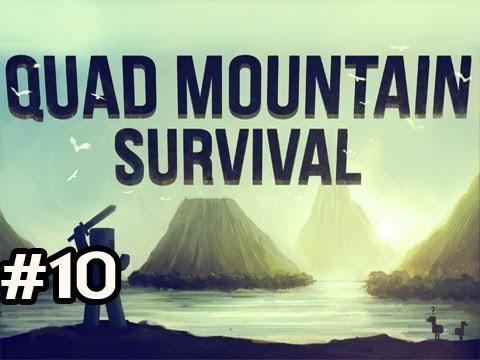 Minecraft: Quad Mountain Survival w/Nova Ep.10 - TORNADO ALERT!