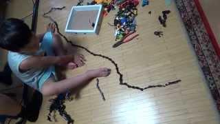 getlinkyoutube.com-레고 블록 부품으로 줄넘기를 하는 아이 (Jumping for Lego Blocks)