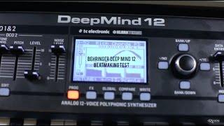 getlinkyoutube.com-Behringer DeepMind 12 demo by Teka [RAFPAK] for E-MUZYK