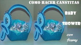 getlinkyoutube.com-COMO  HACER DULCERO BABY SHOWER / RECUERDO/BAUTIZO