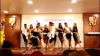 getlinkyoutube.com-Northeast Student Fest  KSO(M ) Cultural Dance. Jemchoisel