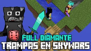 getlinkyoutube.com-TRAMPAS EN SKYWARS #50 | MATANDO TEAM Y FULL DIAMANTE | ESCALERAS