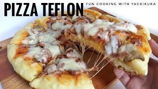 PIZZA TEFLON EMPUK * PIZZA ON PAN RECIPE