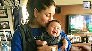 Kareena Kapoor's OFFICIAL Picture With Baby Taimur Ali Khan | LehrenTV
