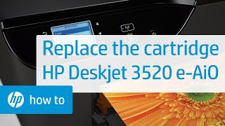 getlinkyoutube.com-Replacing a Cartridge - HP Deskjet 3520 e-All-in-One Printer