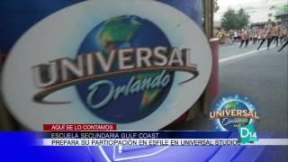 La banda de la escuela Gulf Coast participará en el famoso desfile de Universal Studios