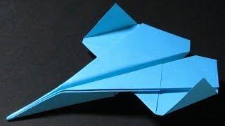 getlinkyoutube.com-Hur man viker ett Pappersflygplan som FLYGER LÅNGT | Bygone