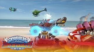 "getlinkyoutube.com-Official Trailer: ""Large and SuperCharged"" l Skylanders Superchargers l Skylanders"