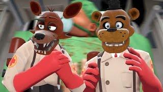 getlinkyoutube.com-FOXY AND FREDDY PLAY: Surgeon Simulator || DR FOXY & NURSE FREDDY