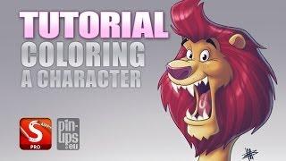 getlinkyoutube.com-Autodesk Sketchbook Pro Tutorial : Coloring A Character