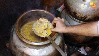 getlinkyoutube.com-Shahi Mutton Korma Prepared for 100 People | Muslim Way of Cooking