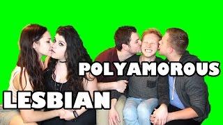 getlinkyoutube.com-NEWLYWED GAME (Lesbian Couple vs Polyamorous Throuple)