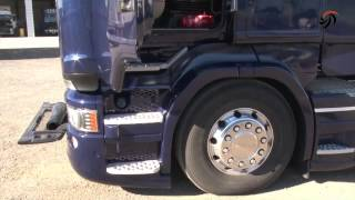 getlinkyoutube.com-Scania R Streamline V8 Euro 6 580 CV