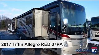 getlinkyoutube.com-2017 Tiffin Allegro RED 37PA   Class A Diesel Motorhome