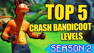 getlinkyoutube.com-Top 5 Crash Bandicoot Levels | MJS Gaming Season 2
