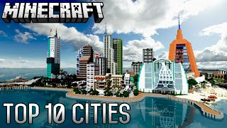 getlinkyoutube.com-Top 10 INSANE Minecraft Cities of ALL-TIME (1.8.8)