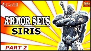 Infinity Blade 3: SIRIS ARMOR SETS! (Part 2 )