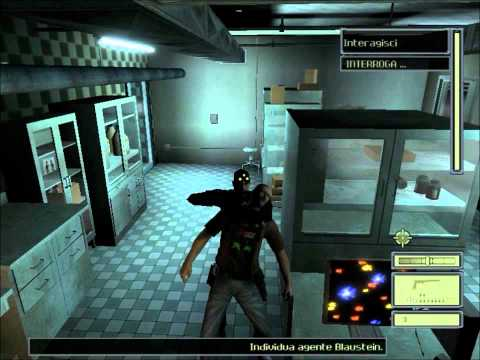Tom Clancy's Splinter Cell (Gameplay ITA) - Missione 01: Stazione di Polizia (Seconda Parte)